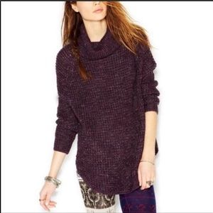Free People Dylan Tweedy Pullover Size S